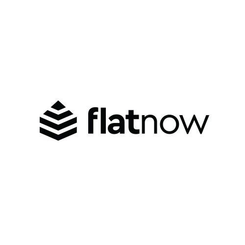 FlatNow Apartment Renting Logo