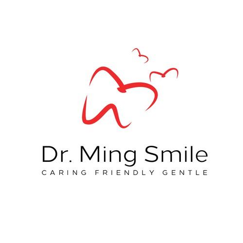Logo For Dr. Ming Smile