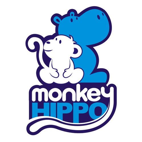 Iconic Logo Needed for Monkey Hippo