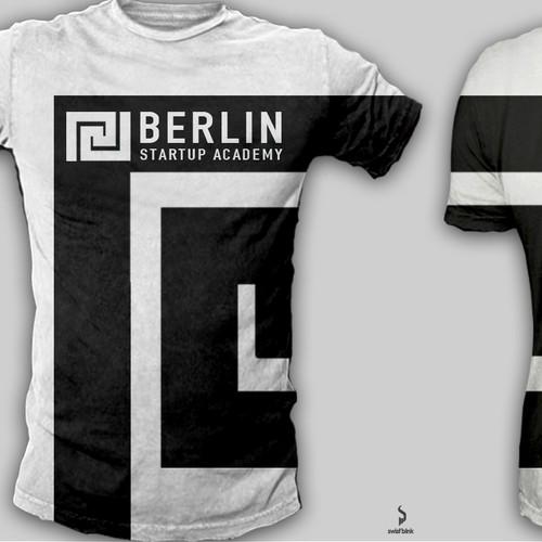 Make a start-up brand T-Shirt look like a kick-ass football shirt!