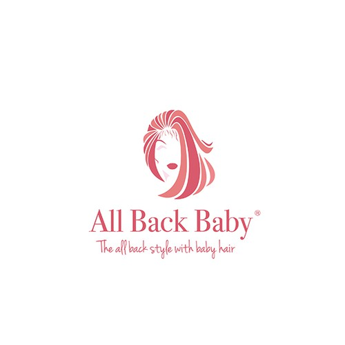 The all back style with baby hair
