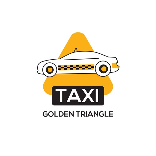 Taxi sticker for golden triangle