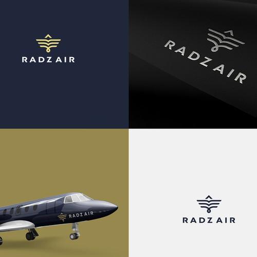 Logo design for private jet service
