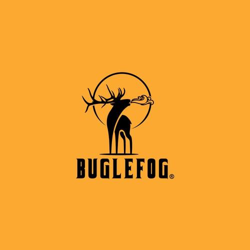Bold logo for Buglefog