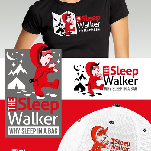 "Sleeping Bag Product needs a new logo  - ""The Sleep Walker"" a sleeping bag suit !!"