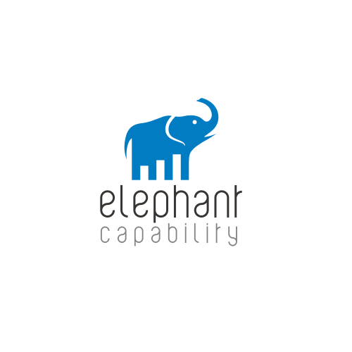 Design a creative yet business like logo for Elephant Capability