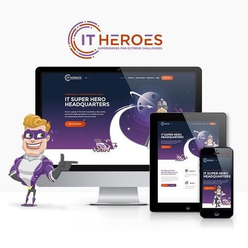 Website design for IT agency