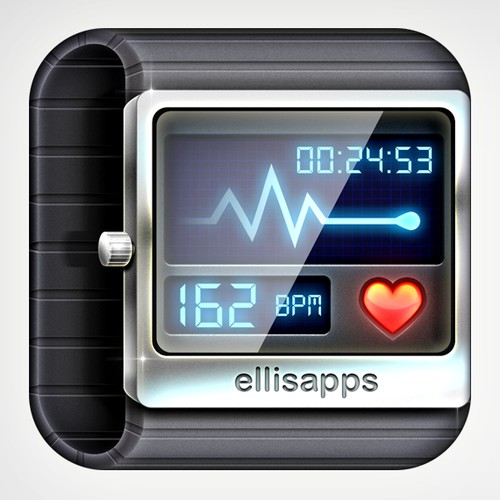 Heart Rate iOS App Icon