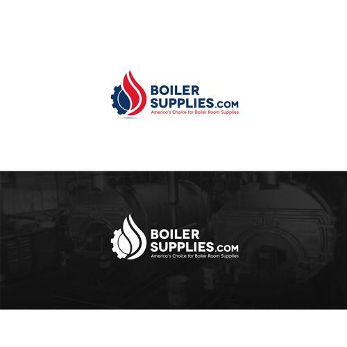 Logo concept for boiler company