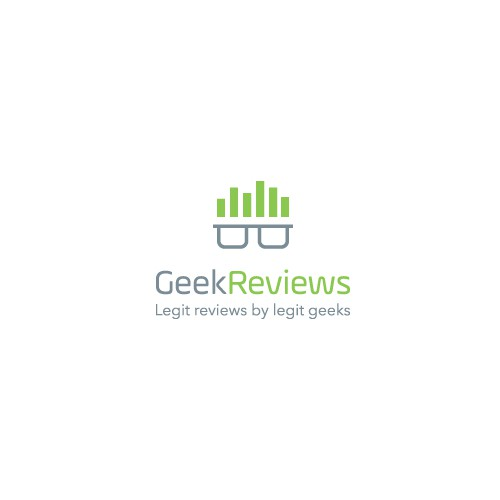 Geek Reviews Logo Design