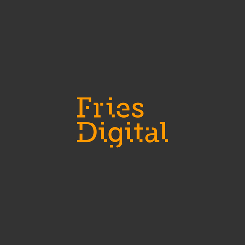 Logo concept for Fries Digital