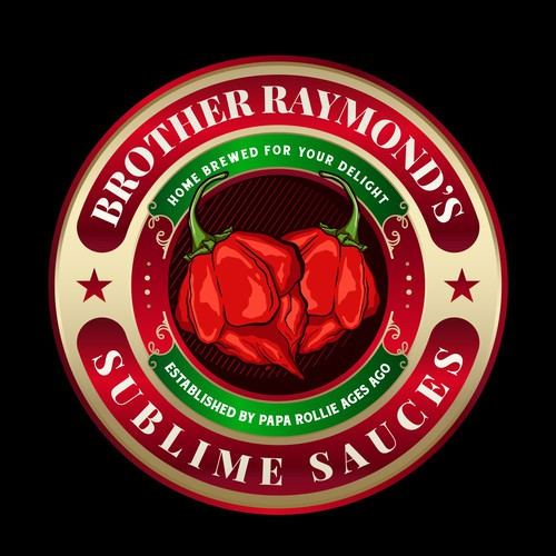 Logo for Brother Raymond's Sublime Sauces