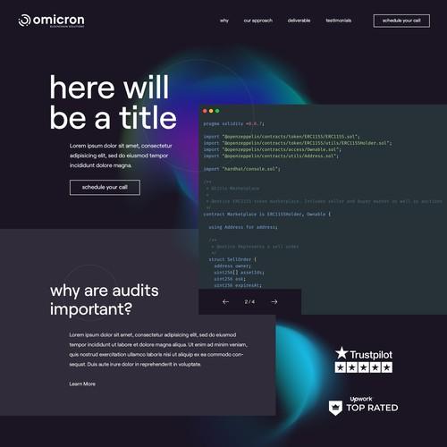 Software Development Agency - Web Design