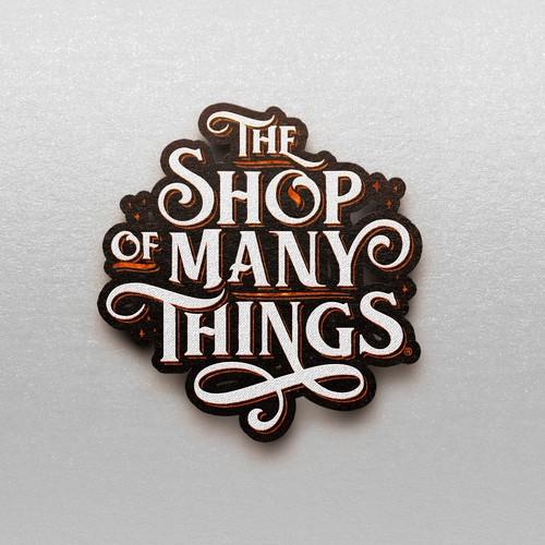 Online Tabletop Shop Logo