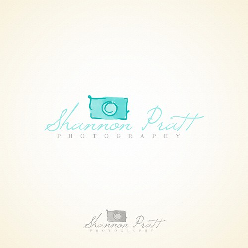 New Fresh simple beautiful photography logo