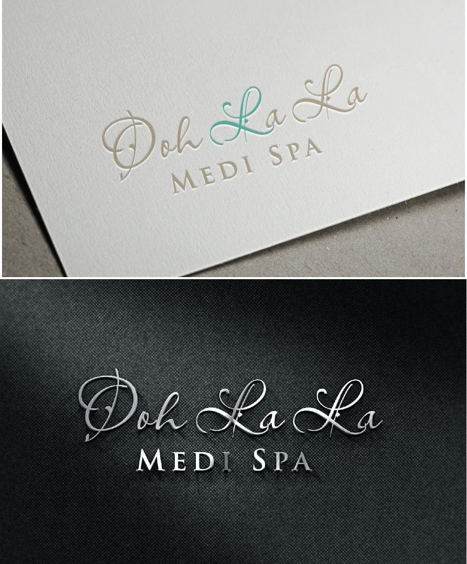 "High-end medical foot spa logo that makes people say ""Ooh La La!"""