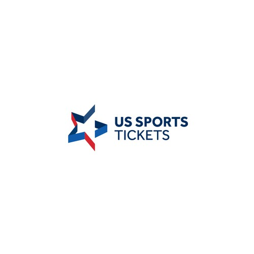 Engaging logo for US entertainment ticket sales.