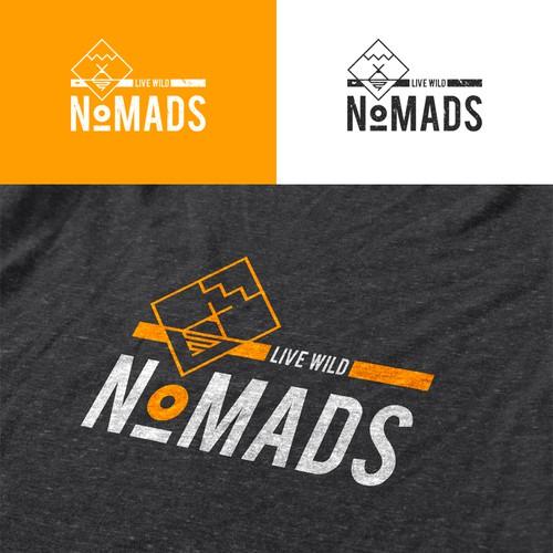 Logo concept for Nomads