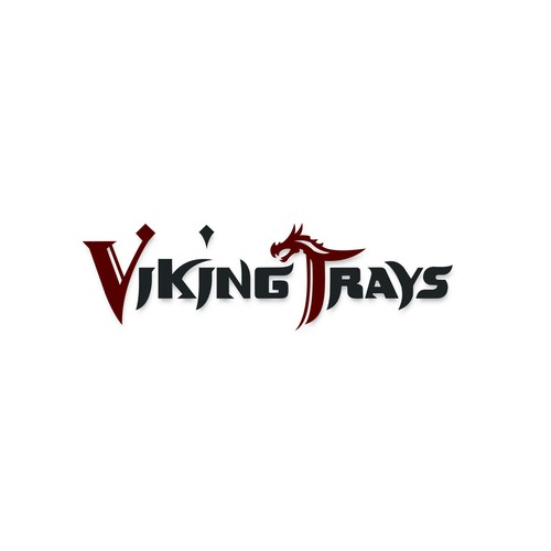 Logo concept for Viking Trays
