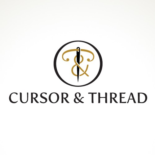 Logo for Cursor & Thread (a Gentleman's Accessories line)