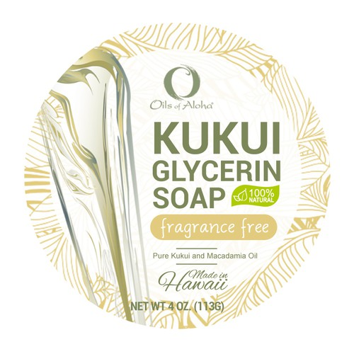 Soap label design