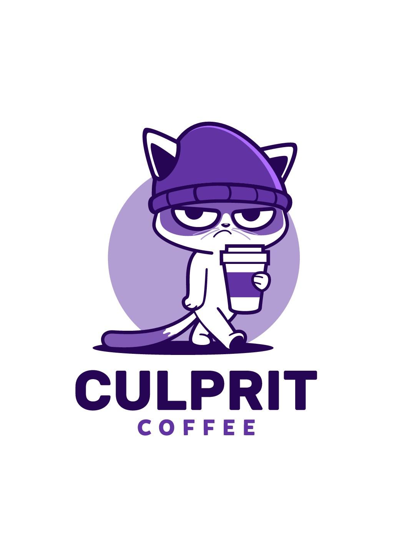 Culprit Coffee Logo Design