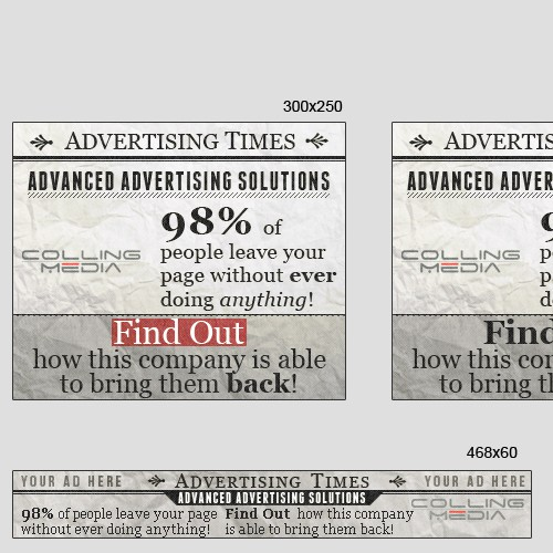 Colling Media needs a new banner ad