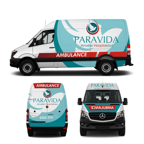 wrap paravida ambulance
