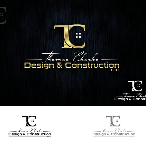 TC Design & Construction innovative logo