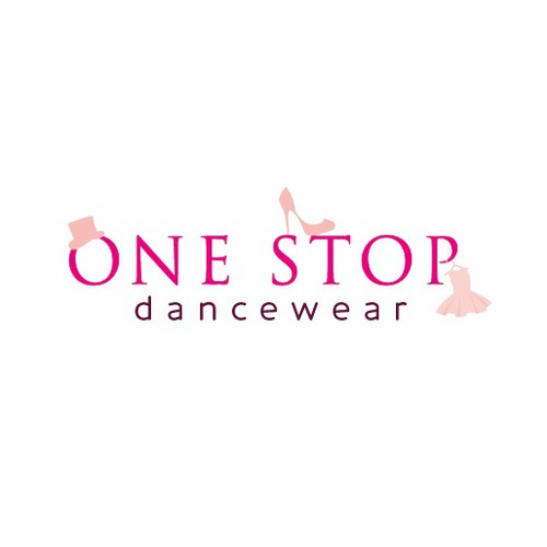 Create the next logo for One Stop Dancewear