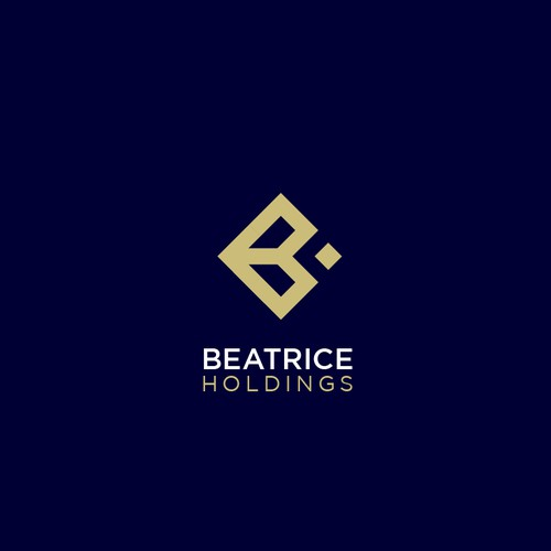 Logo design for holding company