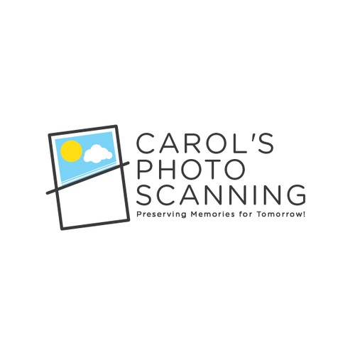 Create the next logo for Carol's Photo Scanning