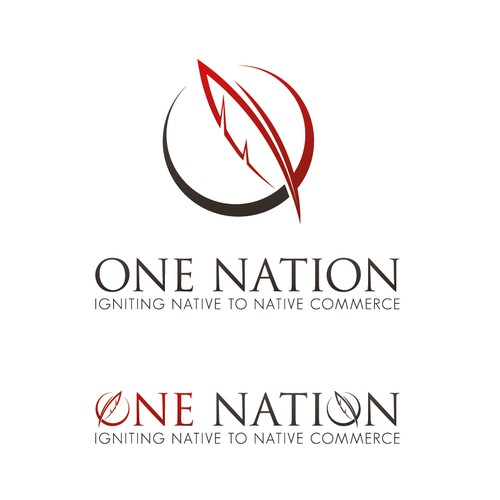 """Native American Based Site """"One Nation"""" Needs New Logo"""