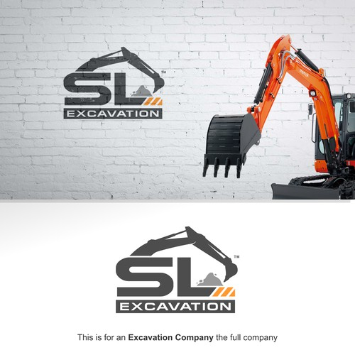 Create a design that will let you know what the business is about at first sight for SL Excavation
