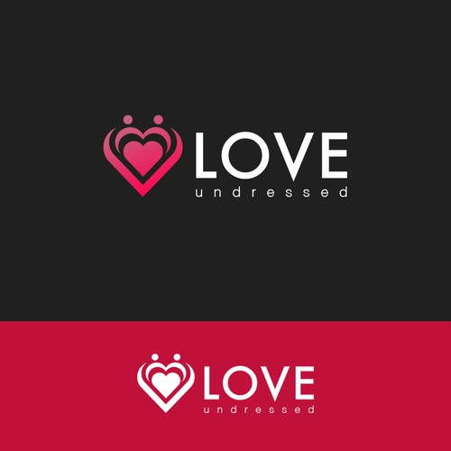 logo concept for love undressed