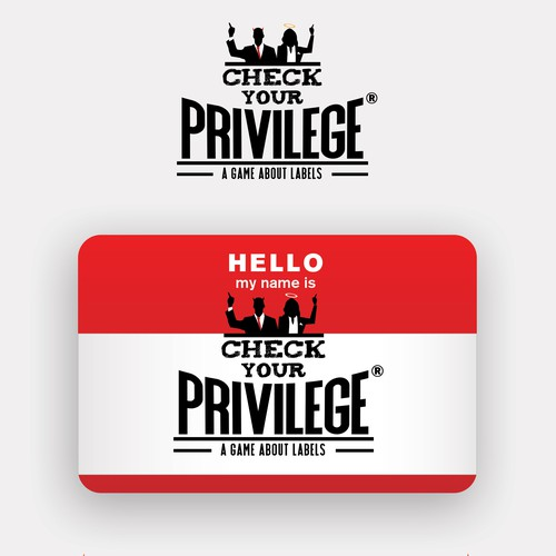 Logo design for Check Your Privilege Games
