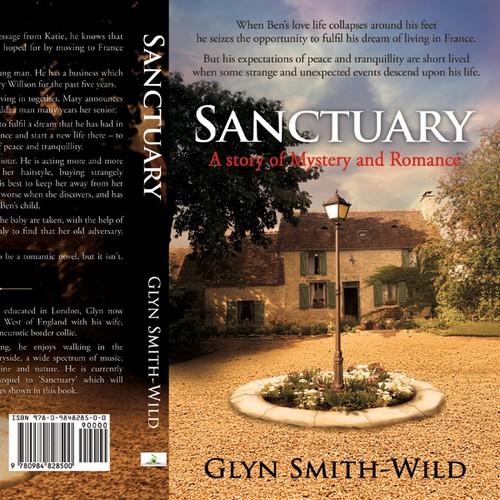 Cover for paperback novel