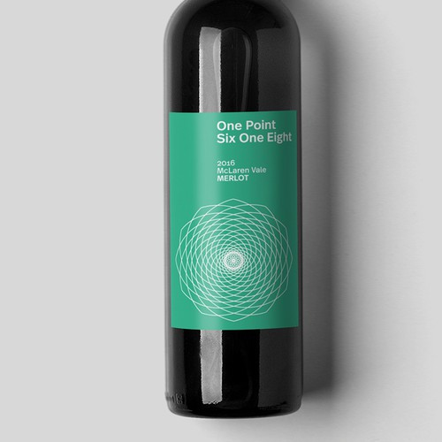 Wine label design for a new Australian wine brand