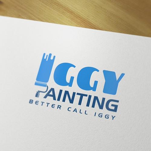 Iggy Painting