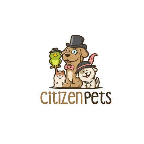 Citizen Pets logo