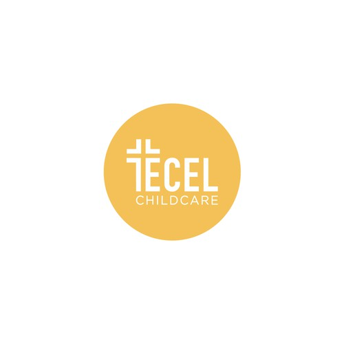 Simple & Clean Logo for Christian Childcare - ECEL