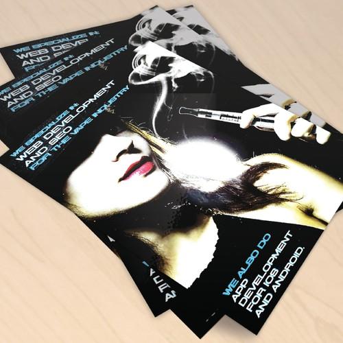 Flyer Campaign for Solar Eliquids