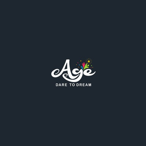 """AGE"" is our school name ""DARE TO DREAM"" is our byline"