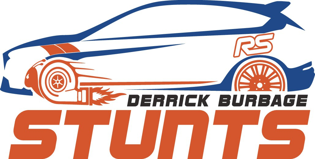Design a cool logo for a Hollywood movie Stunt Driver