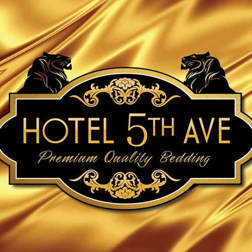 Hotel 5th Ave - Premium Quality Bedding - Logo for Company Brand