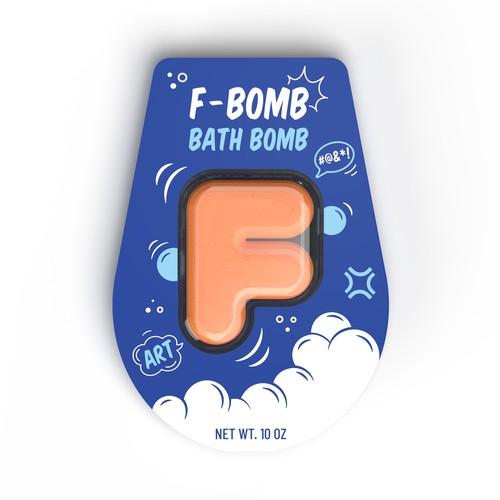 F-BOMB Bath Bomb