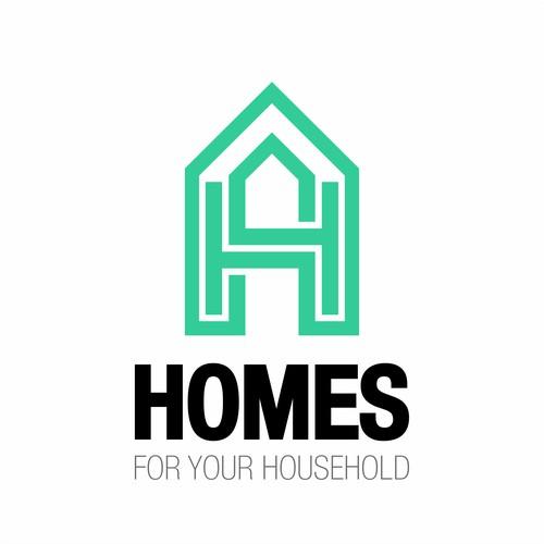 HOMES logo concept
