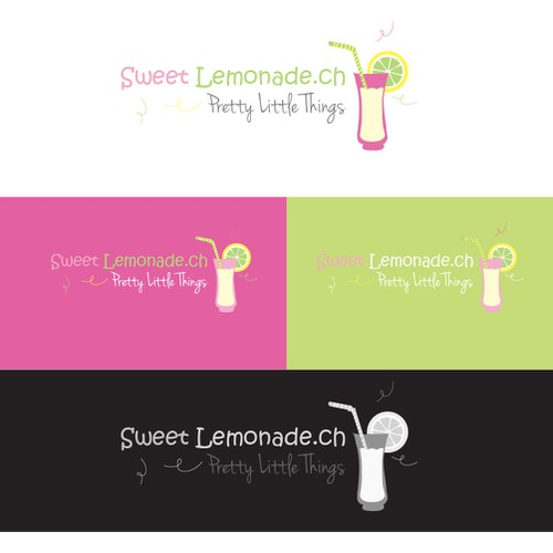 I need a stylish, playful, female logo for an online shop, Brand name and a picture or icon
