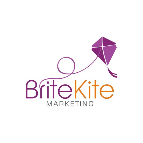 Create the next logo for Brite Kite Marketing