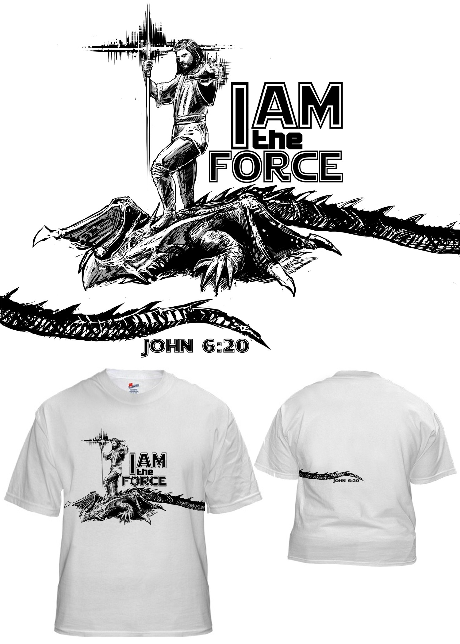 Jedi Jesus t-shirt